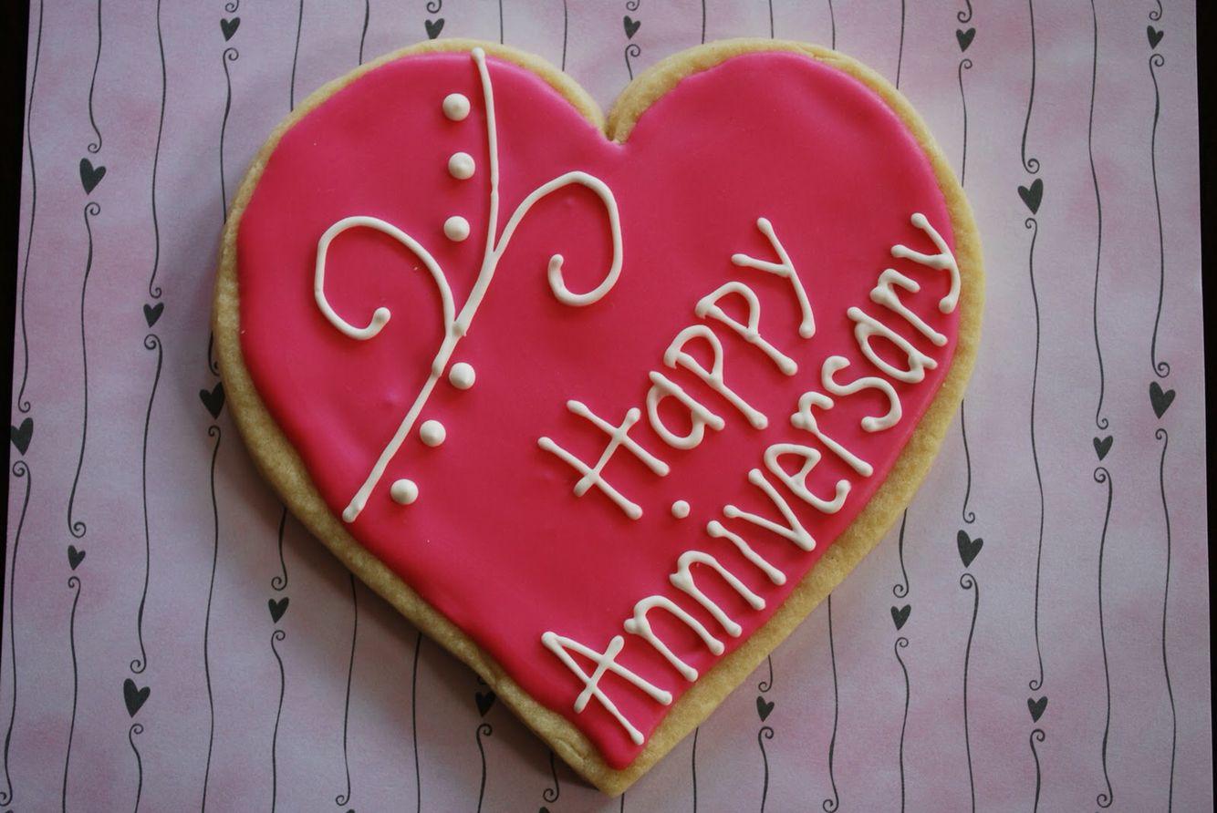 Happy anniversary cookie anniversary anniversary