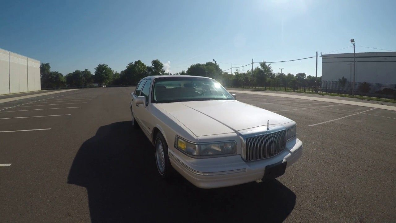 4k Review 1997 Lincoln Town Car Cartier Edition 43k Miles Virtual