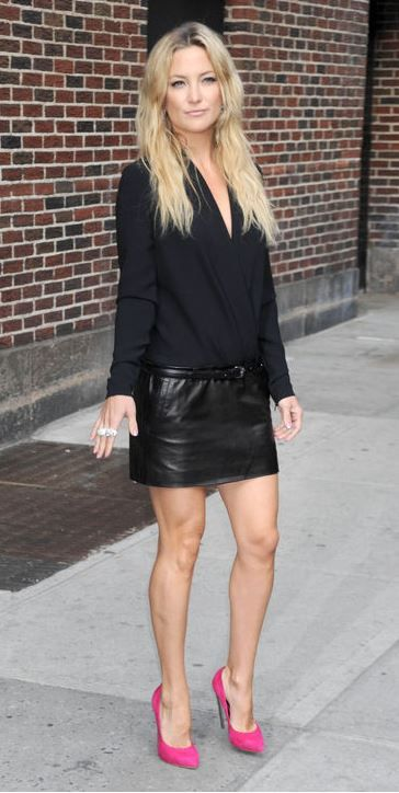 What top to wear with a black leather mini skirt | skirt 4 ...