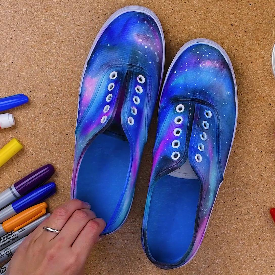 Teen Night: Galaxy Shoes