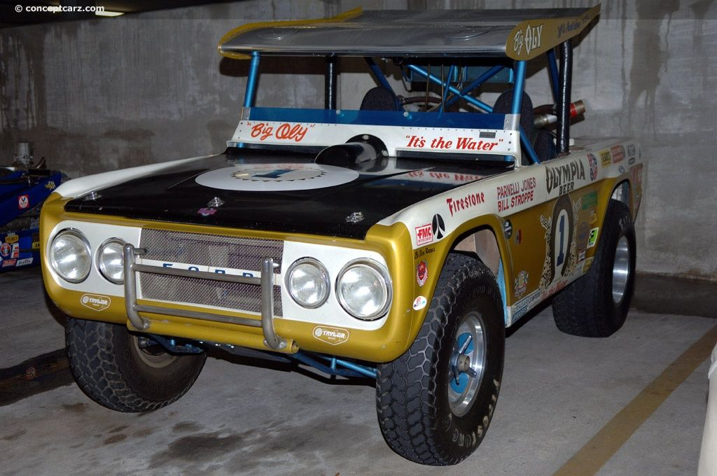 Looking For Images Of The 1969 Ford Bronco This Big Oly Was Designed Constructed And Owned By Vels Parnelli Jones Racing