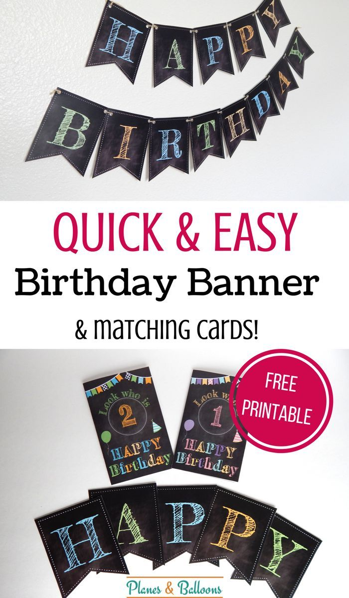 happy birthday printable banner to celebrate in style favorite mom