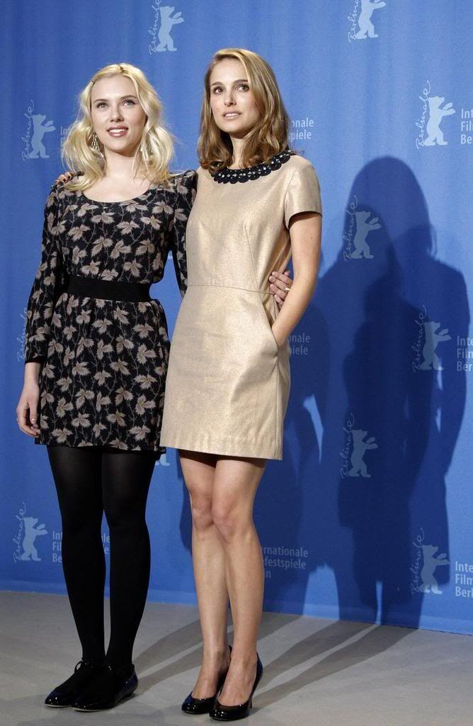 Natalie Portman e Scarlett Johansson al Berlinale Film Festival | GOSSIPpando