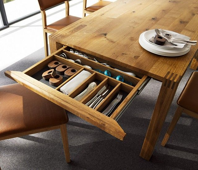 Dining Table With Drawers Expandable Dining Table Dining Table With Drawers Diy Dining Table