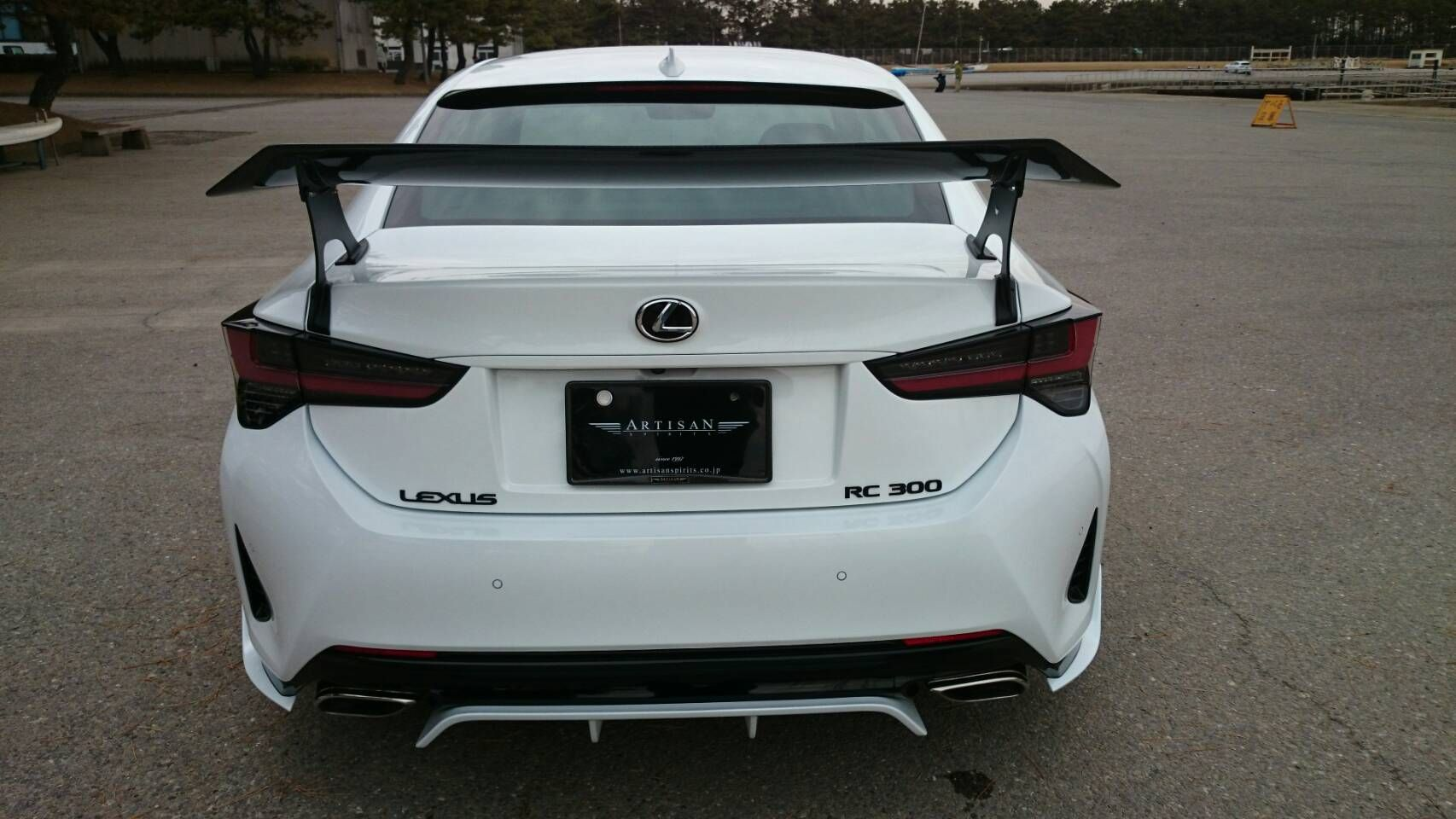 This New Gt Wing For The Lexus Rc300 From Artisan Spirits Makes All The Difference New Lexus Lexus Car Goals