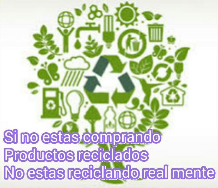 Una imagen que nos muestra como reciclar