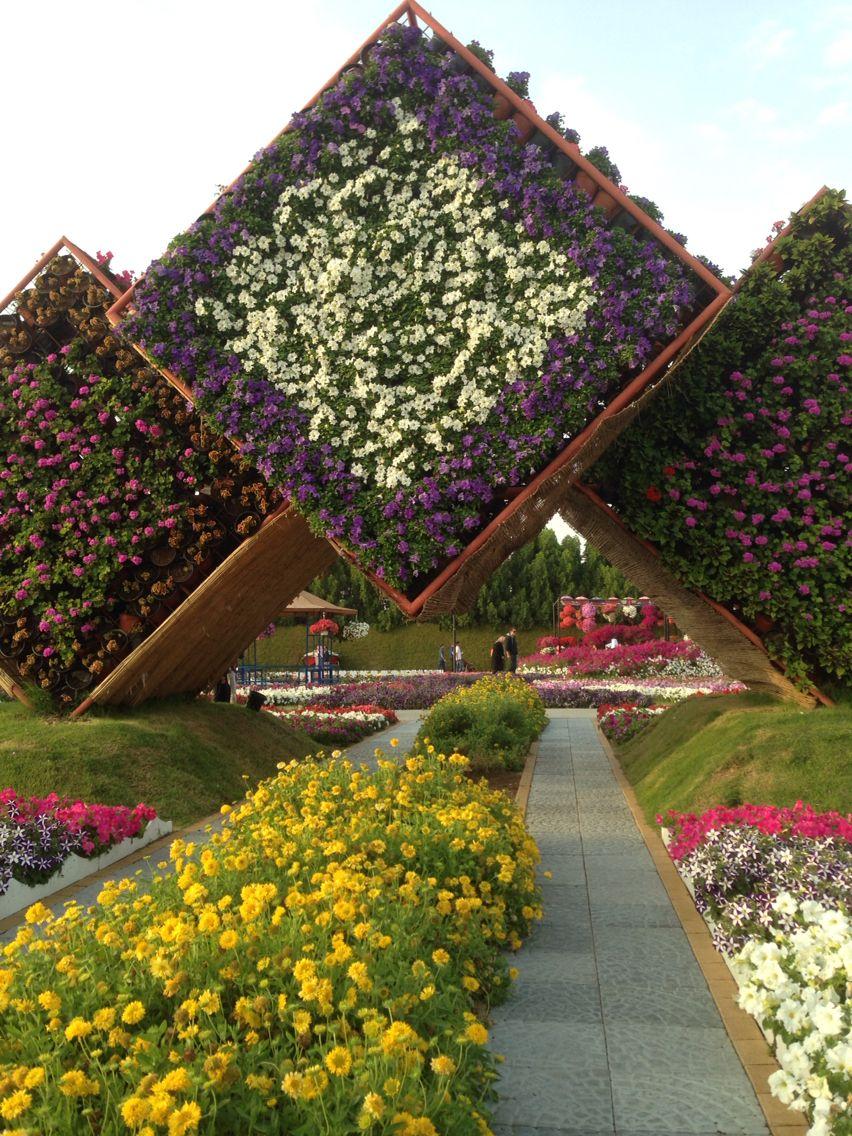 Dubai Miracle Garden, Dubai, UAE . Photography: Juhaina Al Fardan ...