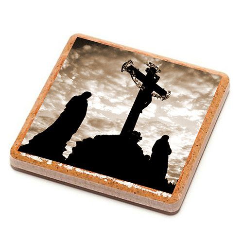 Charles Bridge - Prague - Stone Drink Coaster