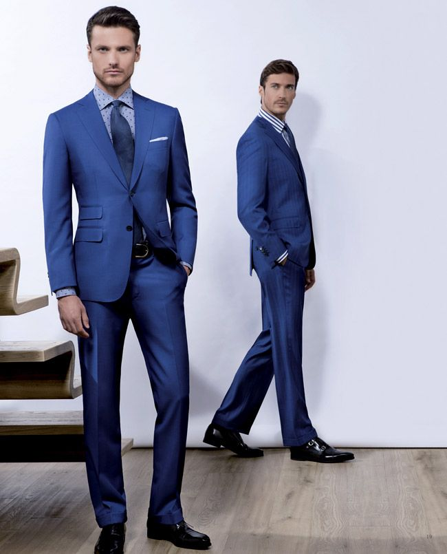 Men's suits 2016 fashion trends: Blue suits | MODELS MENS ACTORS ...
