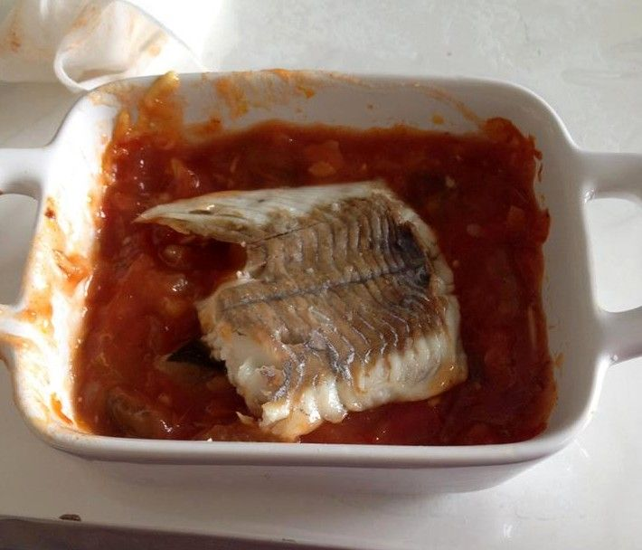 filet de colin sur lit de ratatouille de Steffie