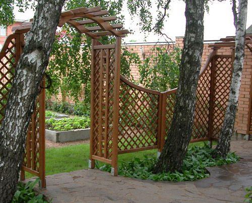 Картинки по запросу экраны в саду перголы, трельяжные решетки - paroi anti bruit exterieur