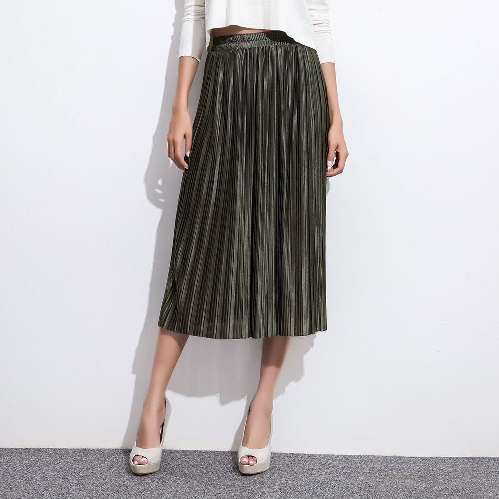 2017 Europe Fashion New Style Women Skirts Loose Elastic Waist ...