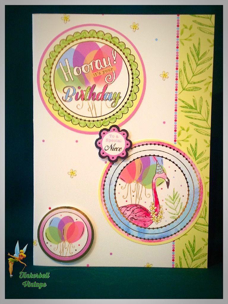 Niece Birthday Card Handmade Greeting Card Niece Birthday