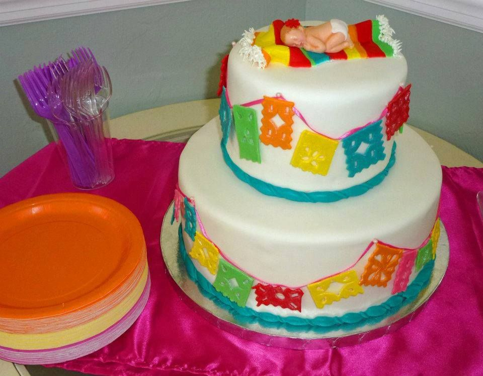 Mexican Themed Baby Shower Cake For Bridgetteu0027s Shower, ...