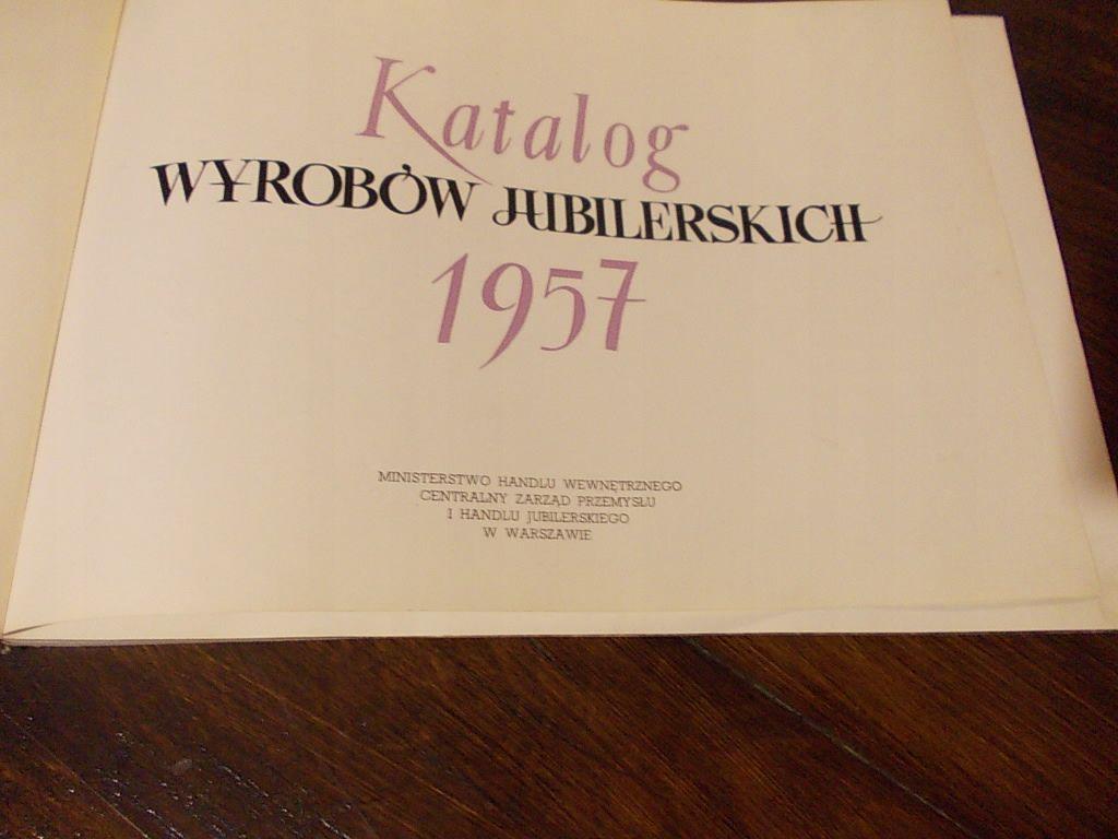 Katalog Wyrobow Jubilerskich 1957r Orno Warmet Ryt 7650977242 Oficjalne Archiwum Allegro Book Cover Tableware