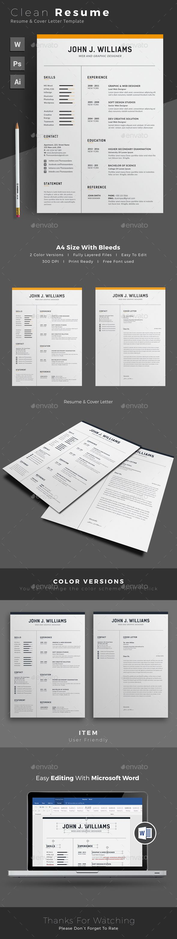 Porter Resume Brilliant Resume  Pinterest  Template Cv Template And Resume Cv