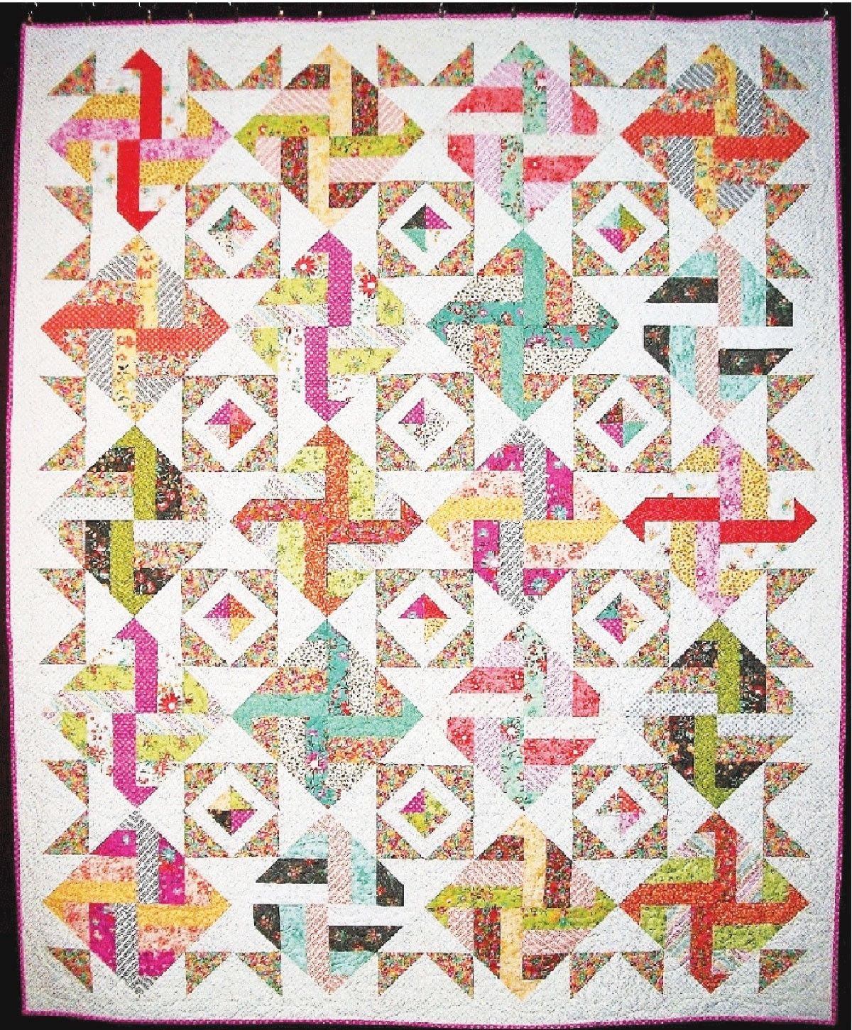 Surprise Party Quilt By Faust, Terri 64in x 79in Uses