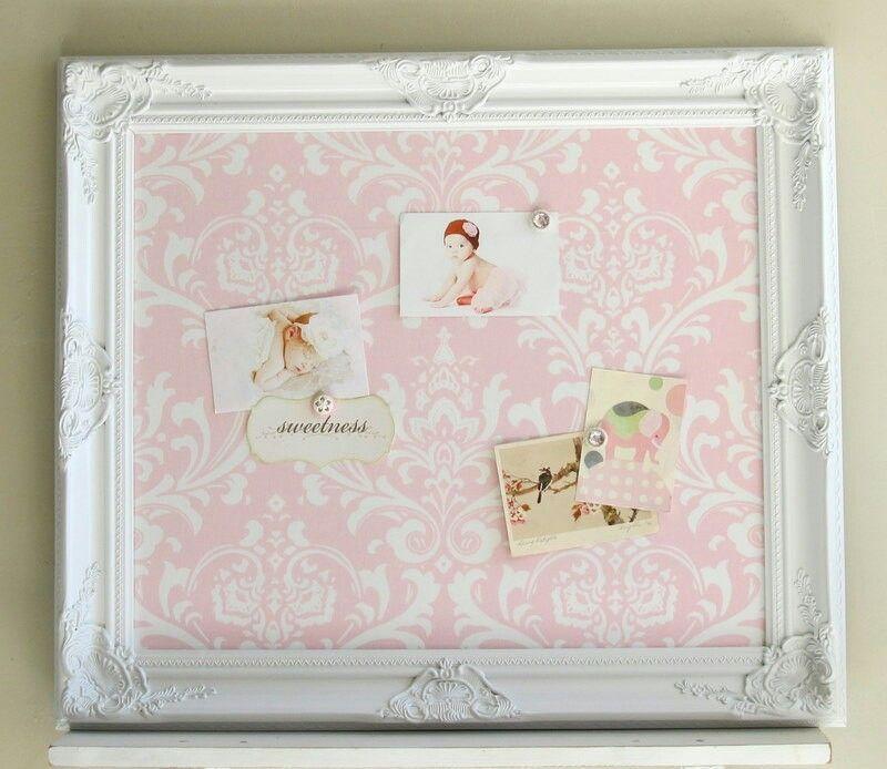 Frame magnetic board | DIY Project - Vintage Frame | Pinterest ...