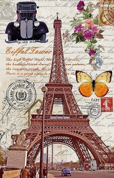Laminas Vintage De Paris Londres Y Pisa
