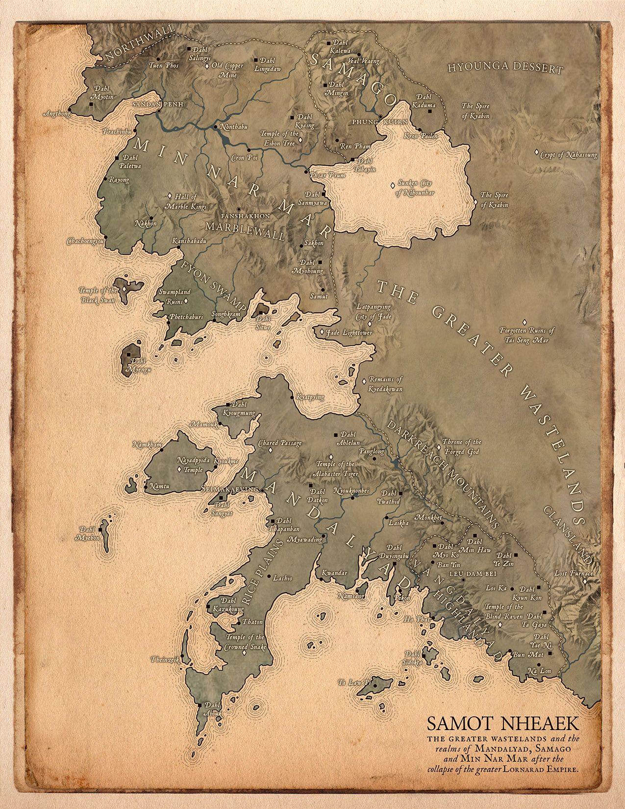 Samot Nheaek - Medium Files | Maps and Locations | Imaginary maps
