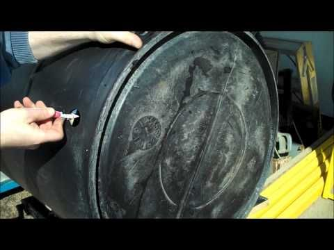 Making a gravity feed shower barrel cabin ideas for Garden pool doomsday preppers