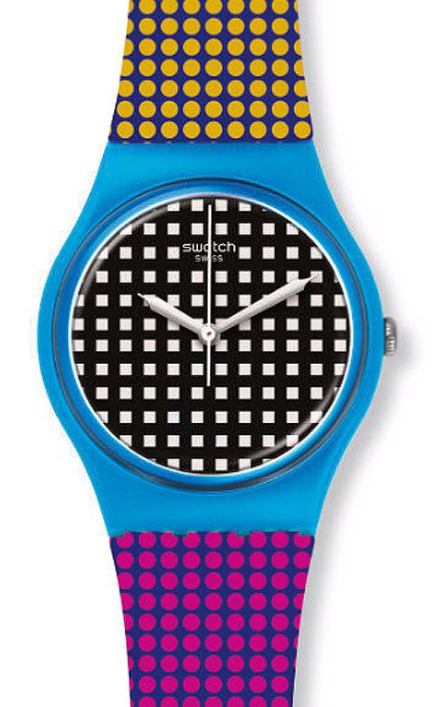 reloj swatch mujer behind the wall gs