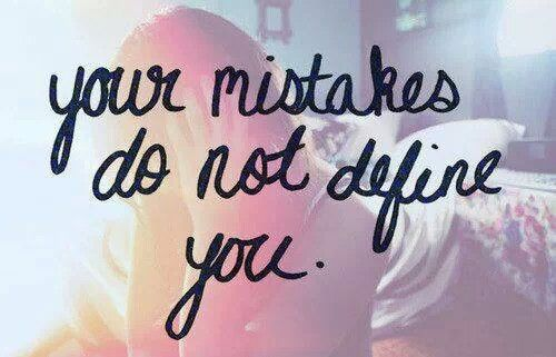 Your mistakes do not define you. #showersblessing