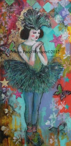 Two New Calendars From Red Bubble, painting by artist Maria Pace-Wynters
