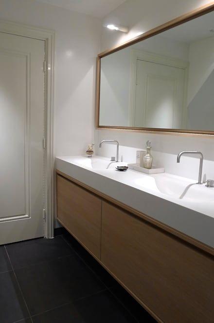 Badkamer: design, ideeën, inspiratie en foto\'s - Badkamer, Doors en ...