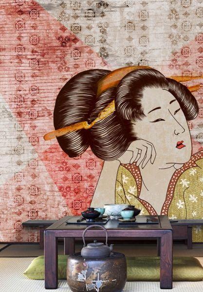 Wallpepper - Classic geisha