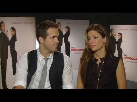 Ryan Reynolds And Sandra Bullock On The Proposal Youtube
