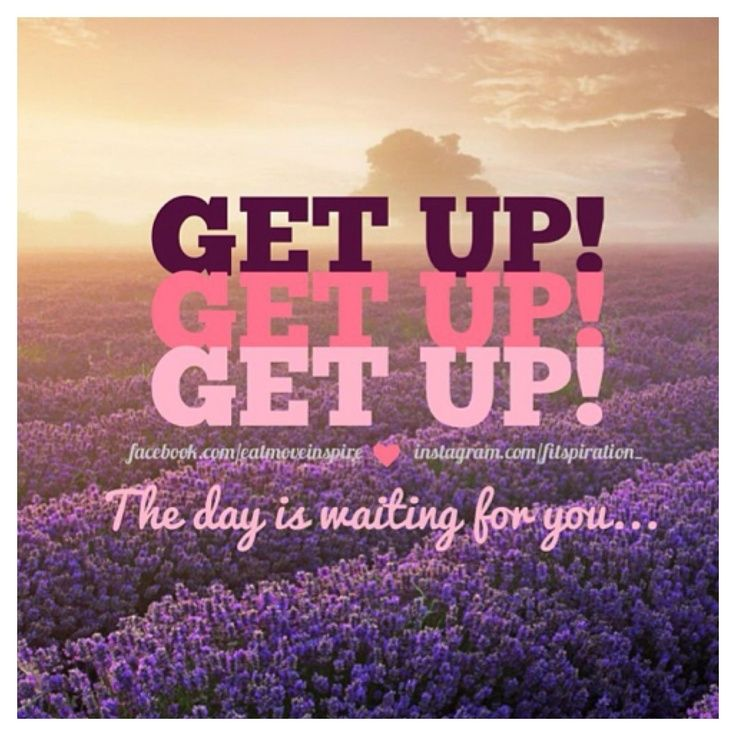 Get Up Morning Workout Quotes Motivational