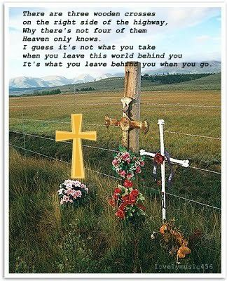 Randy Travis Three Wooden Crosses Country Music Lyrics Country