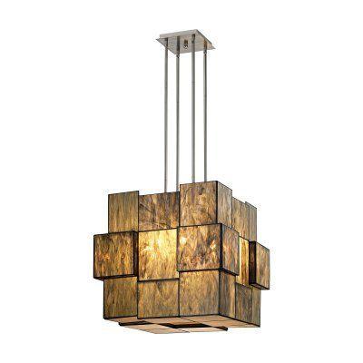 ELK Lighting Cubist 72074-8 8 Light Chandelier - 72074-8