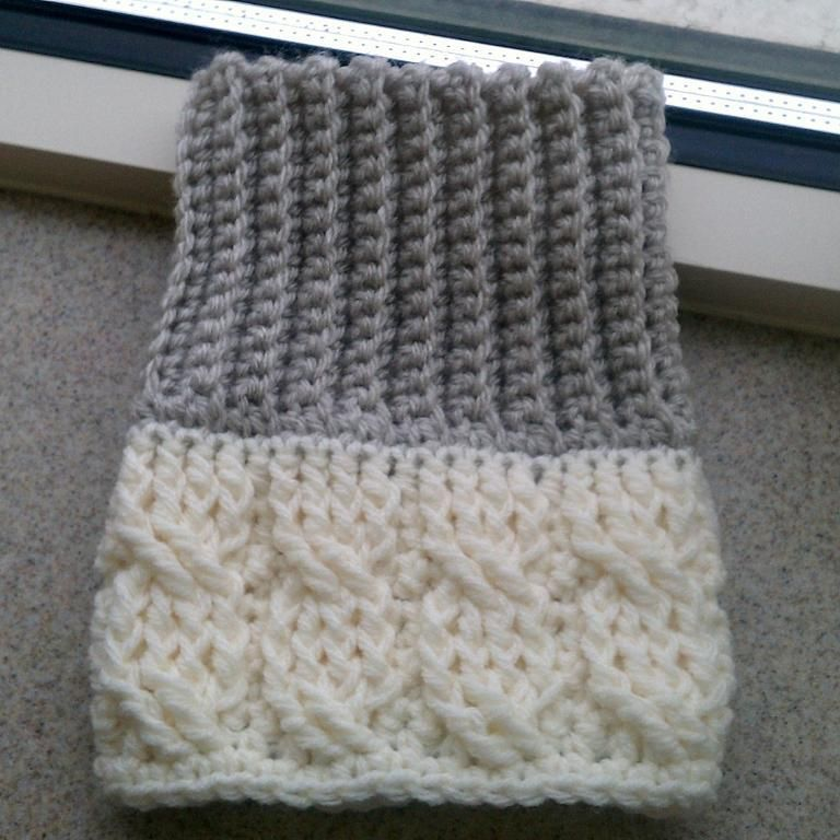 Boot Cuffs Set 1-not a free pattern, but very pretty ...