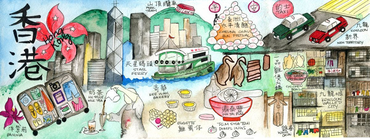 They draw travel a website of illustrated maps art