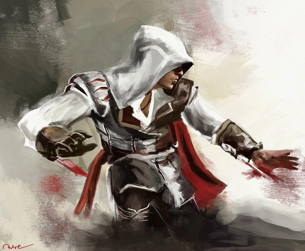 Ezio Auditore by Namecchan.deviantart.com #AssassinsCreed