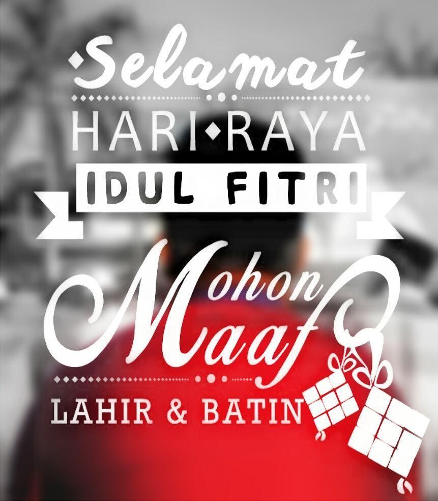 Selamat Hari Raya Idul Fitri 1437 H Minal Aidin Wal Faidzin
