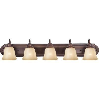 Null Essentials Light OilRubbed Bronze Bath Vanity Light Bath - Bathroom vanity light fixtures oil rubbed bronze