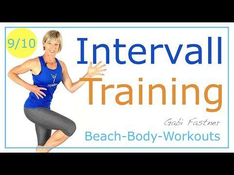 9/10🧵 34 min. Intervall-intensiv-Training | ohne Geräte ...