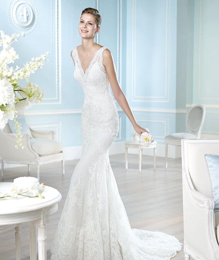 Used Designer Wedding Gowns: Pronovias St. Patrick, Harry (2014) , Find It On