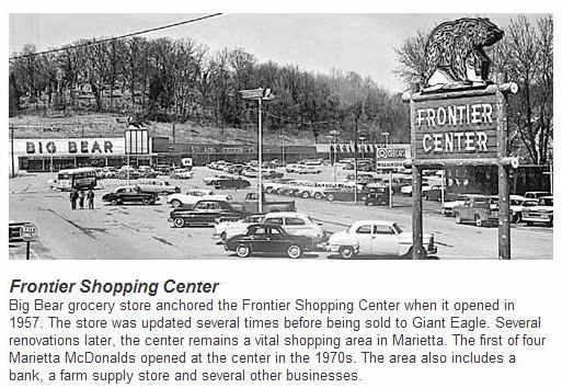Marietta Oh Chamber Christmas 2021 Big Bear Frontier Shopping Center 1957 Marietta Ohio Ohio History Washington County