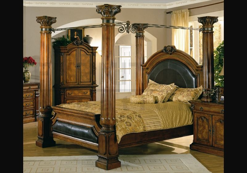 King Size Bedrooms On Pinterest Poster Beds Canopy Beds And California King