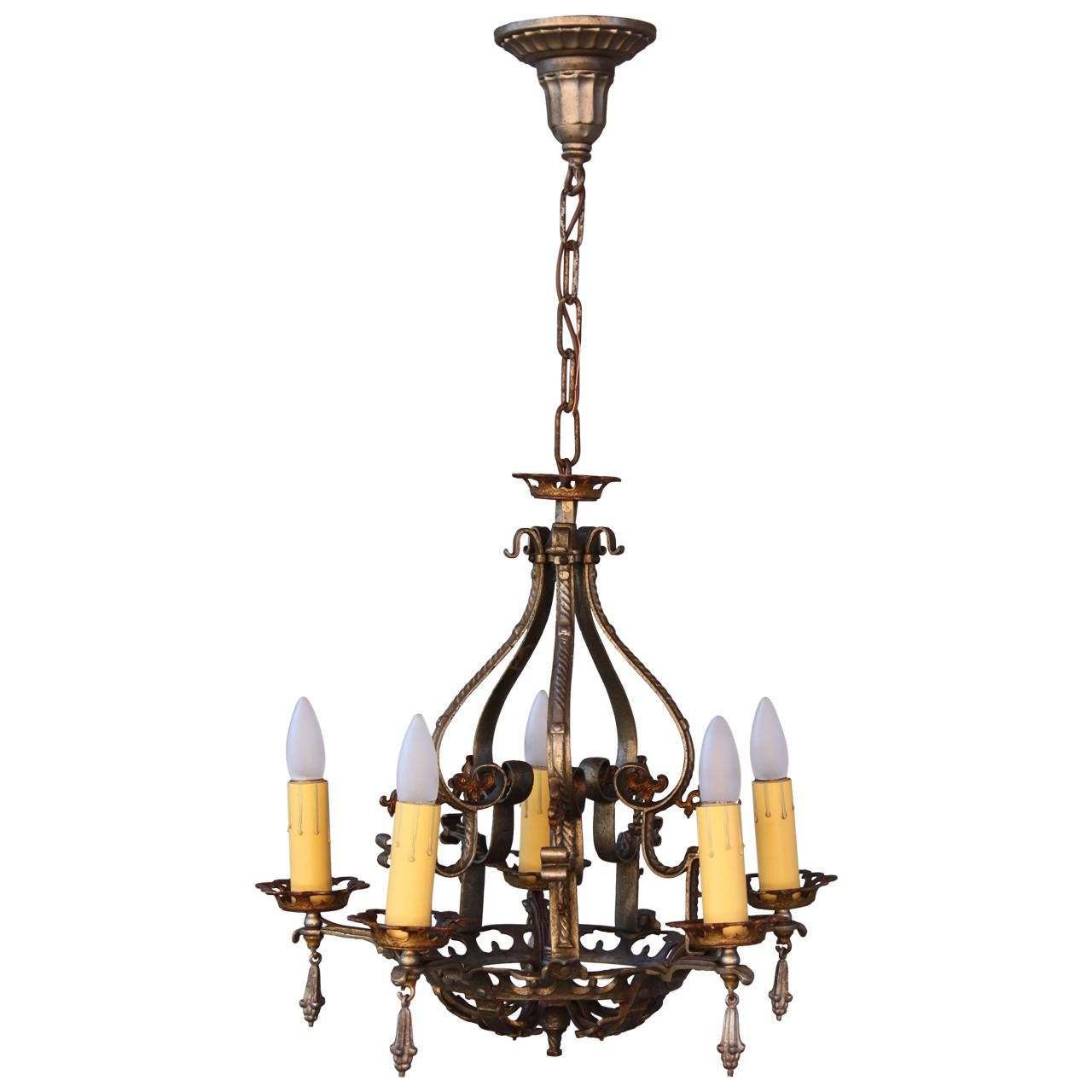 1920s spanish revival chandelier spanish revival and pendant lighting 1920s spanish revival chandelier arubaitofo Gallery