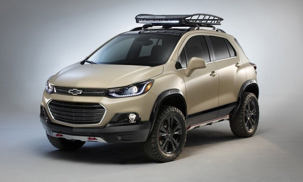 Chevy Trax Activ Concept The Little Suv That Could Off Road Http