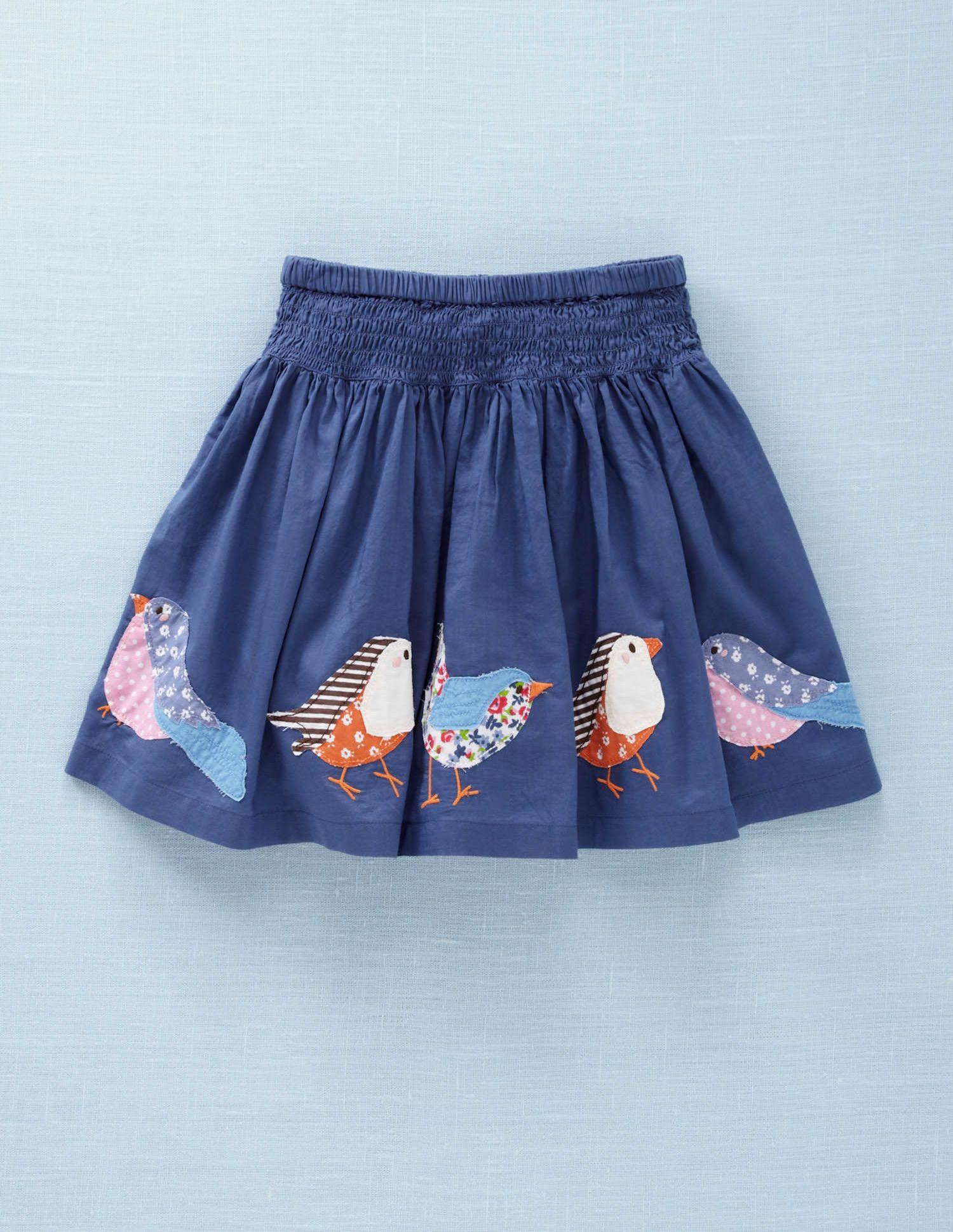 Appliqu bird skirt mini boden applique pinterest for Baby boden mode