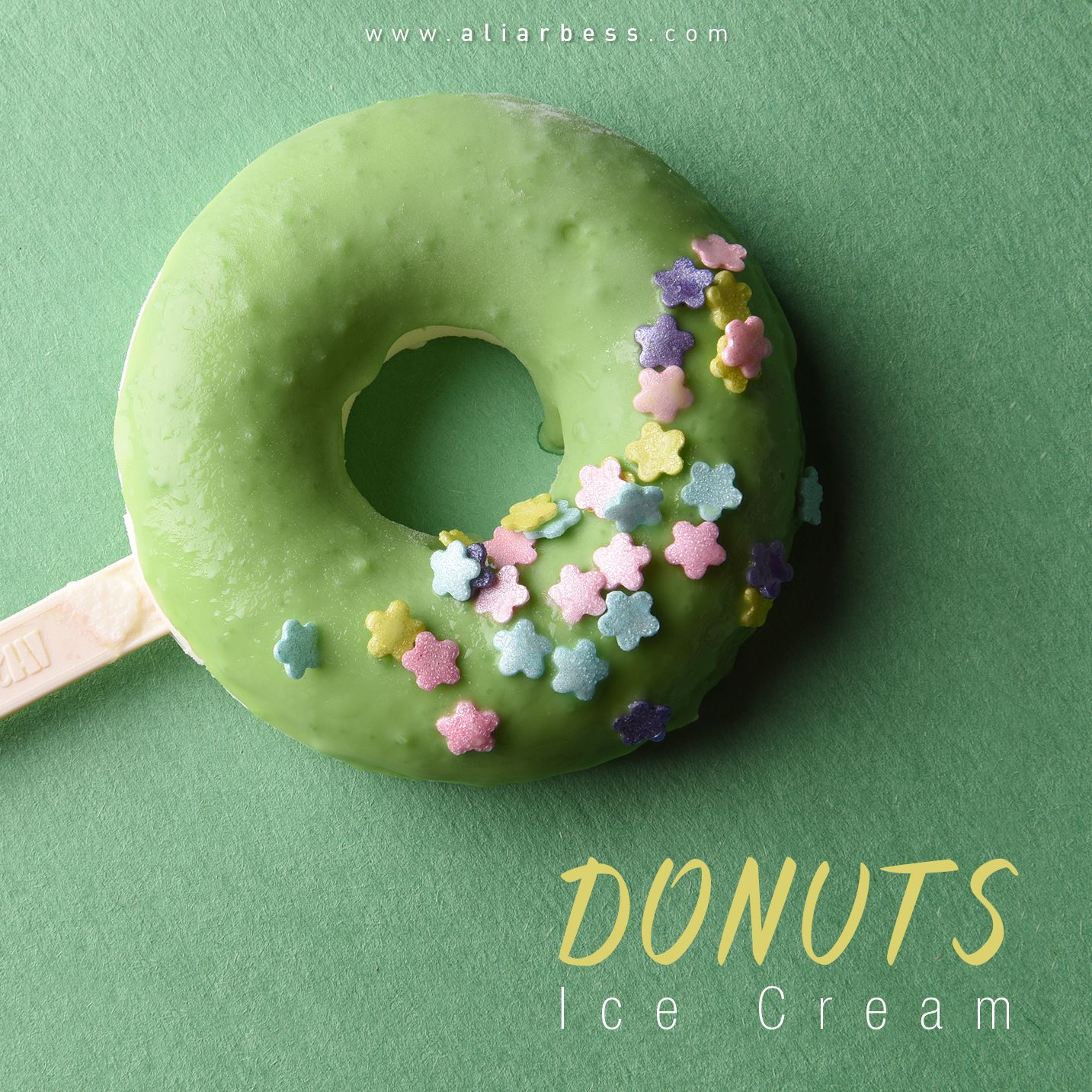 Donuts green with images food food photography donuts