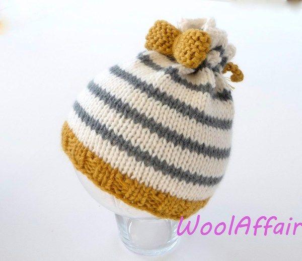 Mütze stricken - Strickanleitung für Babymütze und Kindermütze ...