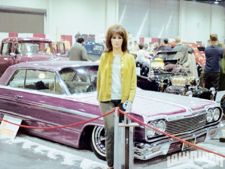 '64 and lowrider girl from '68