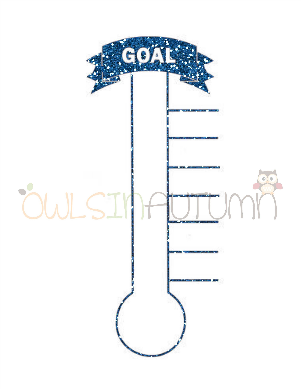 Savings goal tracker in glitter pdf and filing savings goal tracker in glitter malvernweather Choice Image